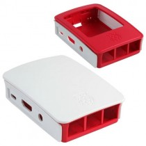 Корпус RASPBERRY PI 3 Model B Official Case BULK, Red/White, для 3 Model B (Raspberry Pi 3 B Case Red (909-8132))