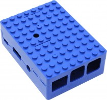 Корпус ACD Blue ABS Plastic Building Block case for Raspberry Pi 3 (RA184)