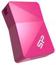 Флеш диск SILICON POWER USB 2.0 32Gb Touch T08 Pink (SP032GBUF2T08V1H)