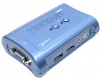 KVM TRENDNET NET SWITCH 2PORT W/AUDIO/ (TK-209K)