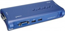 KVM TRENDNET NET SWITCH 4PORT USB/ (TK-407K)