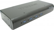 KVM TRENDNET NET SWITCH 4PORT W/AUDIO/USB (TK-423K)