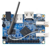 Микрокомпьютер ORANGE PI Lite, Allwinner H3 1.6GHz, 512Mb, HDMI, WiFi, 2xUSB, microSD, 40xGPIO (Orange Pi Lite)