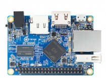 Микрокомпьютер ORANGE PI One, Allwinner H3 1.6GHz, 512Mb, HDMI, LAN, 1xUSB, microSD, 40xGPIO (Orange Pi One)