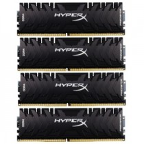 Память KINGSTON 32Gb DDR4 2400MHz DIMM HyperX Predator 4x8Gb KIT (HX424C12PB3K4/32)
