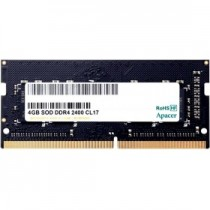 Память APACER 4GB DDR4 2400 SO DIMM Non-ECC, CL17, 1.2V, Retail (ES.04G2T.KFH)