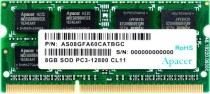 Память APACER SO-DIMM DDR3 8Gb (pc-12800) 1600MHz Retail /DS.08G2K.KAM (AS08GFA60CATBGC)
