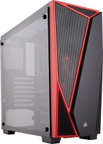 Корпус CORSAIR Carbide Series SPEC-04 Tempered Glass Mid-Tower Gaming Case Black/Red (CC-9011117-WW)