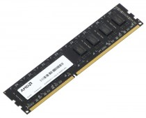Память AMD 4GB DDR3 1333 DIMM R3 Value Series Black Non-ECC, CL9, 1.5V, Retail (R334G1339U1S-U)