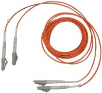Кабель INFORTREND Optical FC cable, LC-LC, MM-50/125, Duplex, LSZH, O.D.=1.8mm*2, 5 Meters (IFT-9270CFCCAB05)