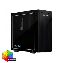 Корпус EVGA DG-76 , Matte Black Mid-Tower, 2 Sides of Tempered Glass, RGB LED and Control Board (160-B0-2230-KR)