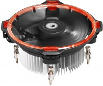 Кулер ID-COOLING TDP 100W, FAN 120mm, Red LED Ring BOX (DK-03 Halo Intel Red)