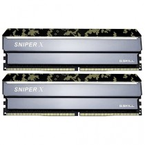Память G.SKILL DDR4 SNIPER X 16GB (2x8GB kit) 3200MHz CL16 PC4-25600 1.35V Digital Camo (F4-3200C16D-16GSXKB)
