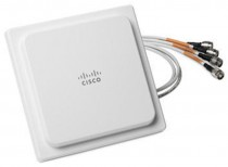 Антенна CISCO 2.4GHz 2dBi/5GHz 4dBi Ceiling Mount Omni Ant., 4-port,RP-TNC (AIR-ANT2524V4C-R=)