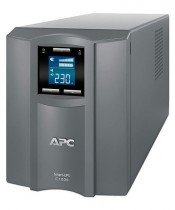 ИБП APC Smart-UPS C 1000VA LCD 230V, 600 ватт, (8) 320 C14, warranty of 1 year, grey, without power and USB cable (SMC1000I-RS)