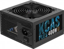 Блок питания AEROCOOL 400W 80+ Bronze, ATX12V 2.4, fan 120mm, RTL (KCAS-400W PLUS)