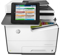 МФУ HP PageWide Enterprise Color MPF 586dn (p/c/s,A4,600dpi,50 (up to 75)ppm,Duplex,2trays 50+500,ADF100,2 Gb, HDD, USB2.0/GigEth/2 ext. USB,1y war, B5L04A) (G1W39A)