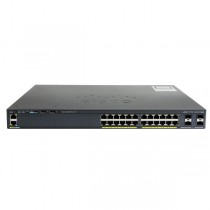 Коммутатор CISCO Catalyst 2960-X 24 GigE 4 x 1G SFP LAN Base (WS-C2960X-24TS-L)