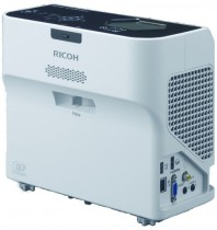 Проектор RICOH PJ WX4152N (DLP, WXGA 1280x800, 3500Lm, 2000:1, HDMI, LAN, USB, 1x2W speaker, 3D Ready, lamp 5000hrs, ultra short-throw, White-Black, 3.0kg) (432106)