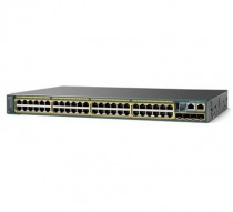 Коммутатор CISCO Catalyst 2960-X 48 GigE PoE 740W, 4 x 1G SFP, LAN Base (WS-C2960RX-48FPS-L)