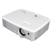 Проектор OPTOMA EH400 (DLP, 1080p 1920x1080, 4000Lm, 22000:1, 2xHDMI, MHL, 1x2W speaker, 3D Ready, lamp 10000hrs, WHITE, 2.41kg) (95.78E01GC0E)