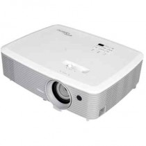 Проектор OPTOMA X400 (DLP, XGA 1024x768, 4000Lm, 22000:1, 2xHDMI, MHL, 1x2W speaker, 3D Ready, lamp 10000hrs, WHITE, 2.41kg) (95.78B01GC0E)