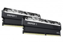 Память G.SKILL DDR4 SNIPER X (for AMD Ryzen) 16GB (2x8GB kit) 3400MHz CL16 PC4-27200 1.35V Urban Camo (F4-3400C16D-16GSXW)
