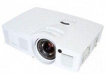 Проектор OPTOMA GT1070Xe (DLP, 1080p 1920x1080, 2800Lm, 23000:1, 2xHDMI, MHL, 1x10W speaker, 3D Ready, lamp 6500hrs, short-throw, WHITE, 2.65kg) (95.82F01GC3E)