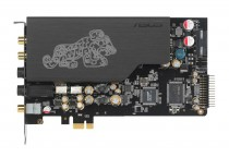 Звуковая карта внутренняя ASUS PCI-E ( AV100, DAC TI Bur-Brown PCM1792A) 2.1 Ret (ESSENCE STX II)