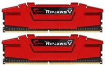 Память G.SKILL DDR4 RIPJAWS V 16GB (2x8GB kit) 3600MHz CL19 PC4-28800 1.35V Blazing Red (F4-3600C19D-16GVRB)