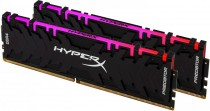 Память KINGSTON DDR4 32Gb KIT (16GbX2) 3000MHz HyperX PREDATOR RGB CL15 XMP (HX430C15PB3AK2/32)