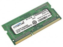 Память CRUCIAL SO-DIMM DDR3 2Gb (pc-12800) 1600MHz (CT25664BF160B)
