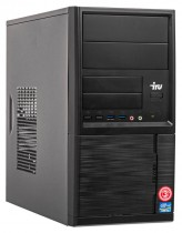 Компьютер IRU Office 313 MT i3 8100 (3.6)/8Gb/1Tb 7.2k/UHDG 630/Windows 10 Professional 64/GbitEth/400W/черный (1122722)
