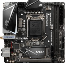 Материнская плата MSI Socket 1151 Z390 DDR4 Mini-ITX (MPG Z390I GAMING EDGE AC)
