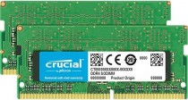Память CRUCIAL SODIMM 32GB Kit (16GBx2) DDR4 2666 MT/s (PC4-21300) CL19 DR x8 Unbuffered 260pin (CT2K16G4SFD8266)