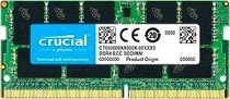 Память CRUCIAL 16GB DDR4 2666 MT/s (PC4-21300) CL19 DR x8 ECC Unbuffered SODIMM 260pin (CT16G4TFD8266)