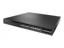 Коммутатор CISCO Catalyst 3650 24 Port Data 4x1G Uplink LAN Base (WS-C3650-24TS-L)