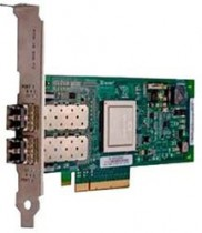 Сетевая карта DELL QLogic QLE2562, Dual Port, 8Gbps Optical Fibre Channel PCIe HBA Card Low Profile (406-BBEL)
